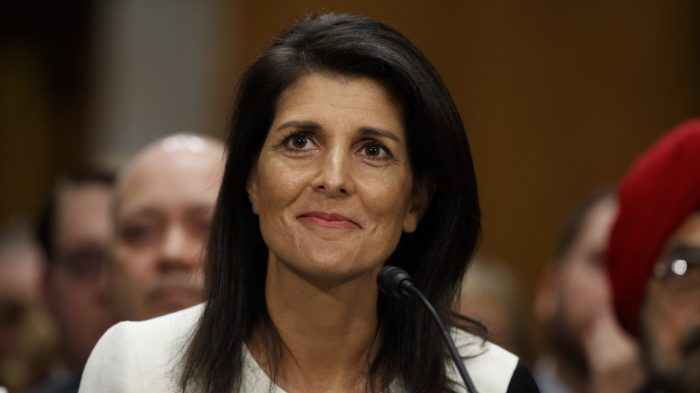 Nikki Haley Tells Joke, Walks Out of UN When No one Laughs