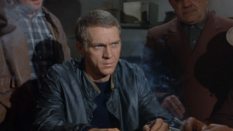 "Steve McQueen in MGM's ""The Cincinnati Kid"""